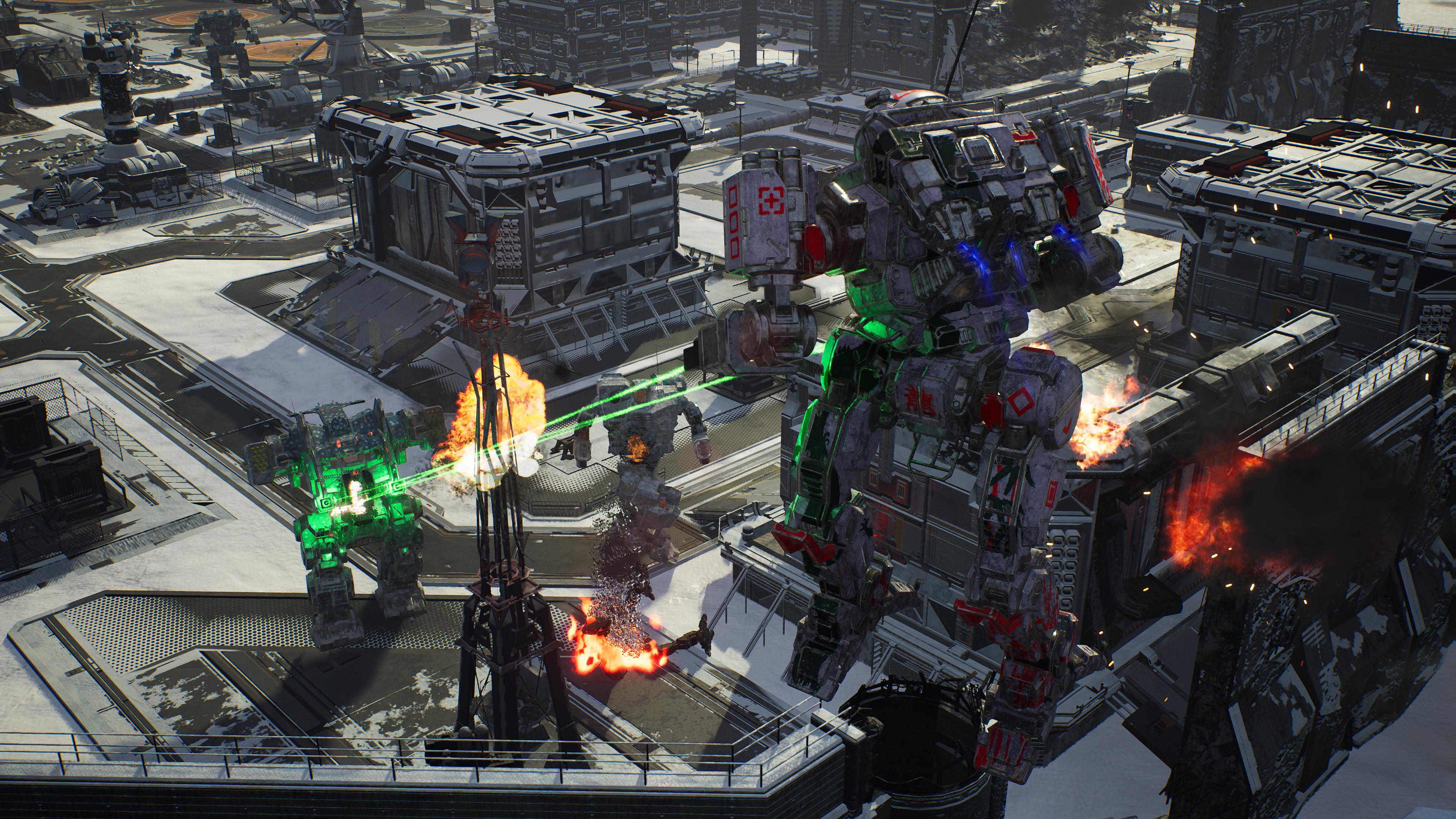 Скриншот №6 к MechWarrior 5 Mercenaries
