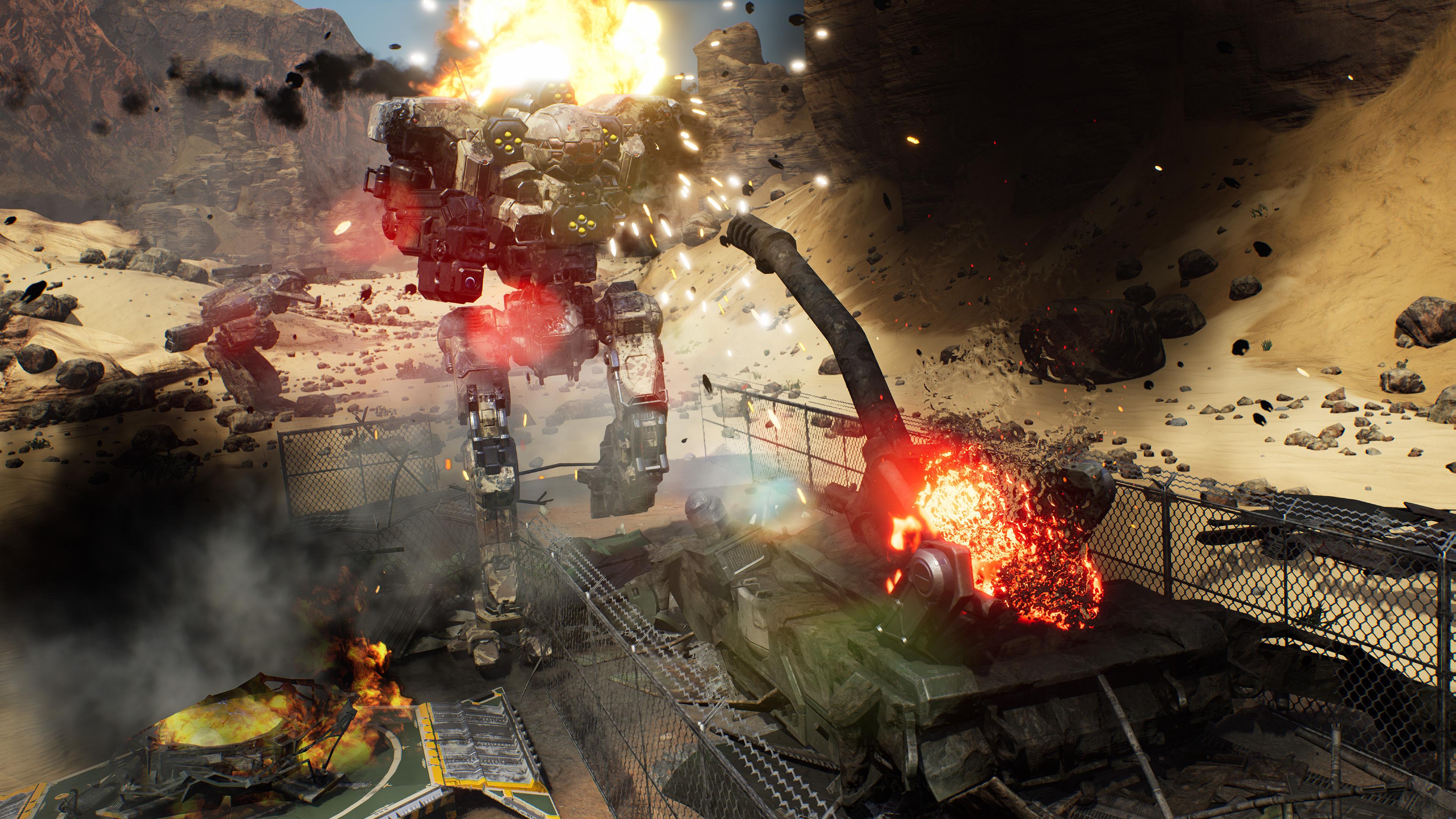 Скриншот №1 к MechWarrior 5 Mercenaries - Герои Inner Sphere
