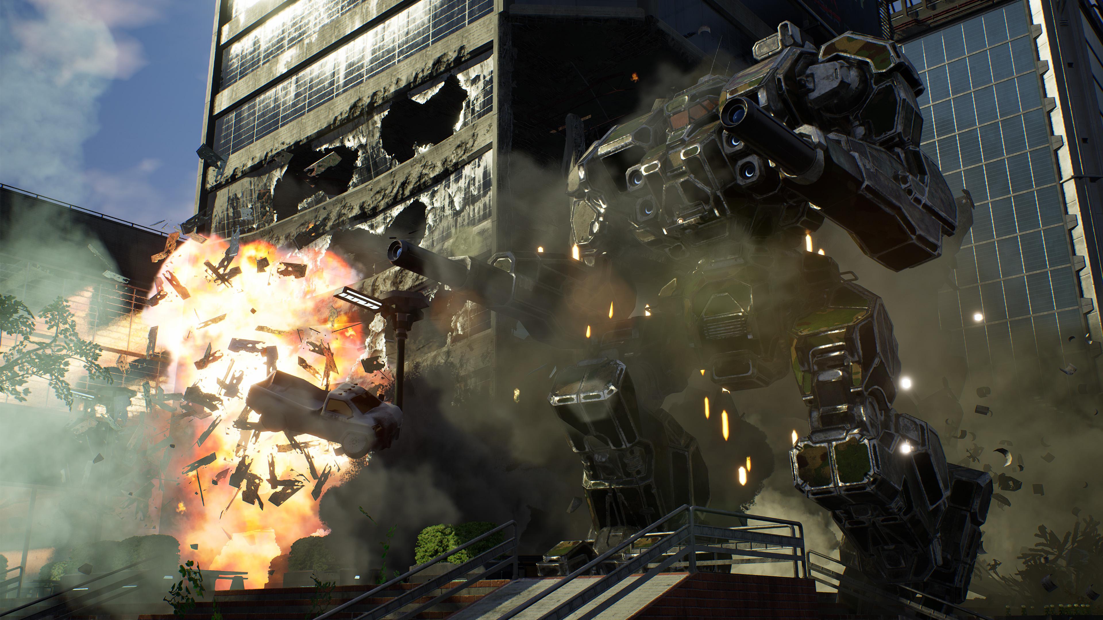 Скриншот №1 к MechWarrior 5 Mercenaries