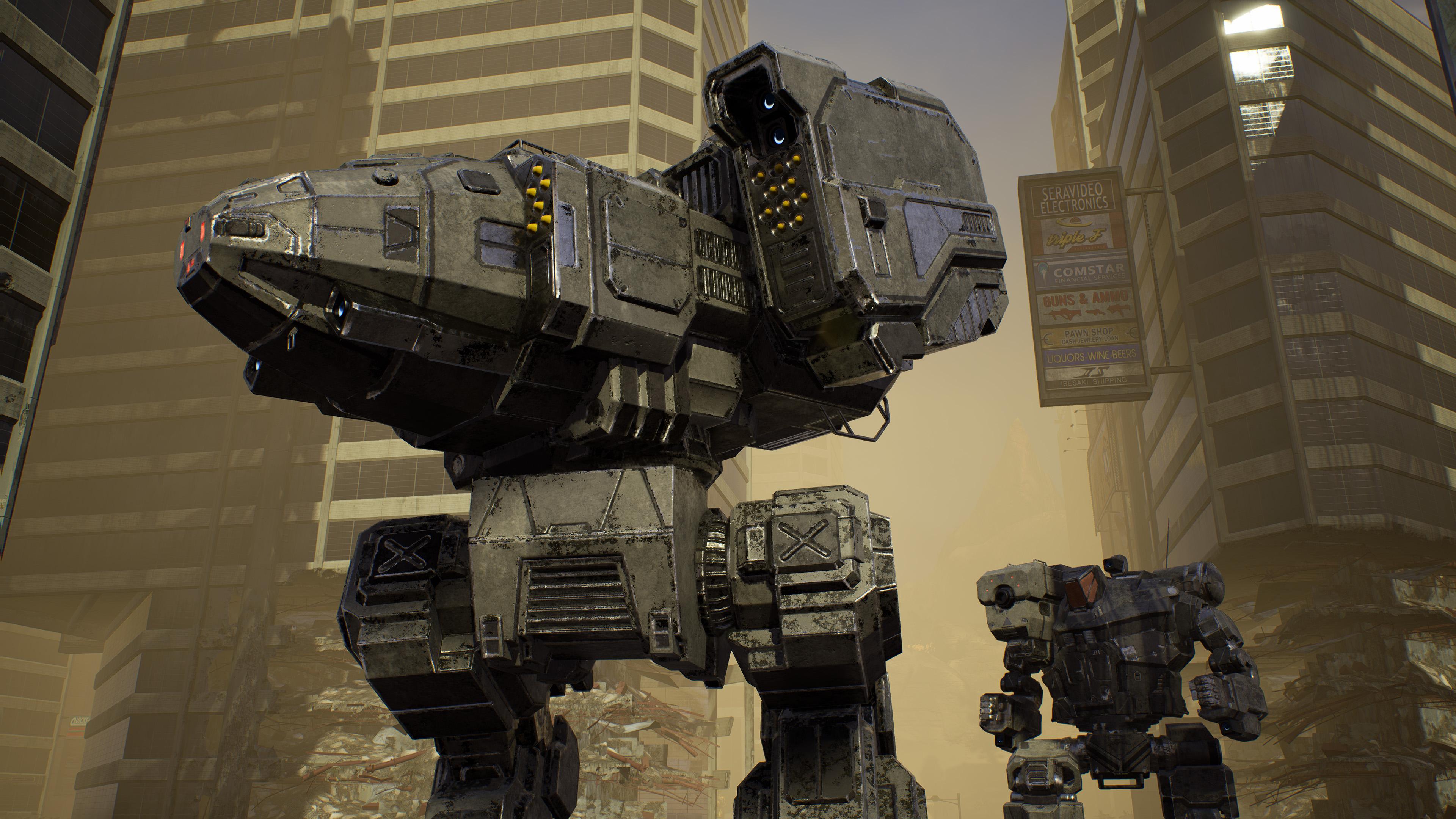 Скриншот №9 к MechWarrior 5 Mercenaries