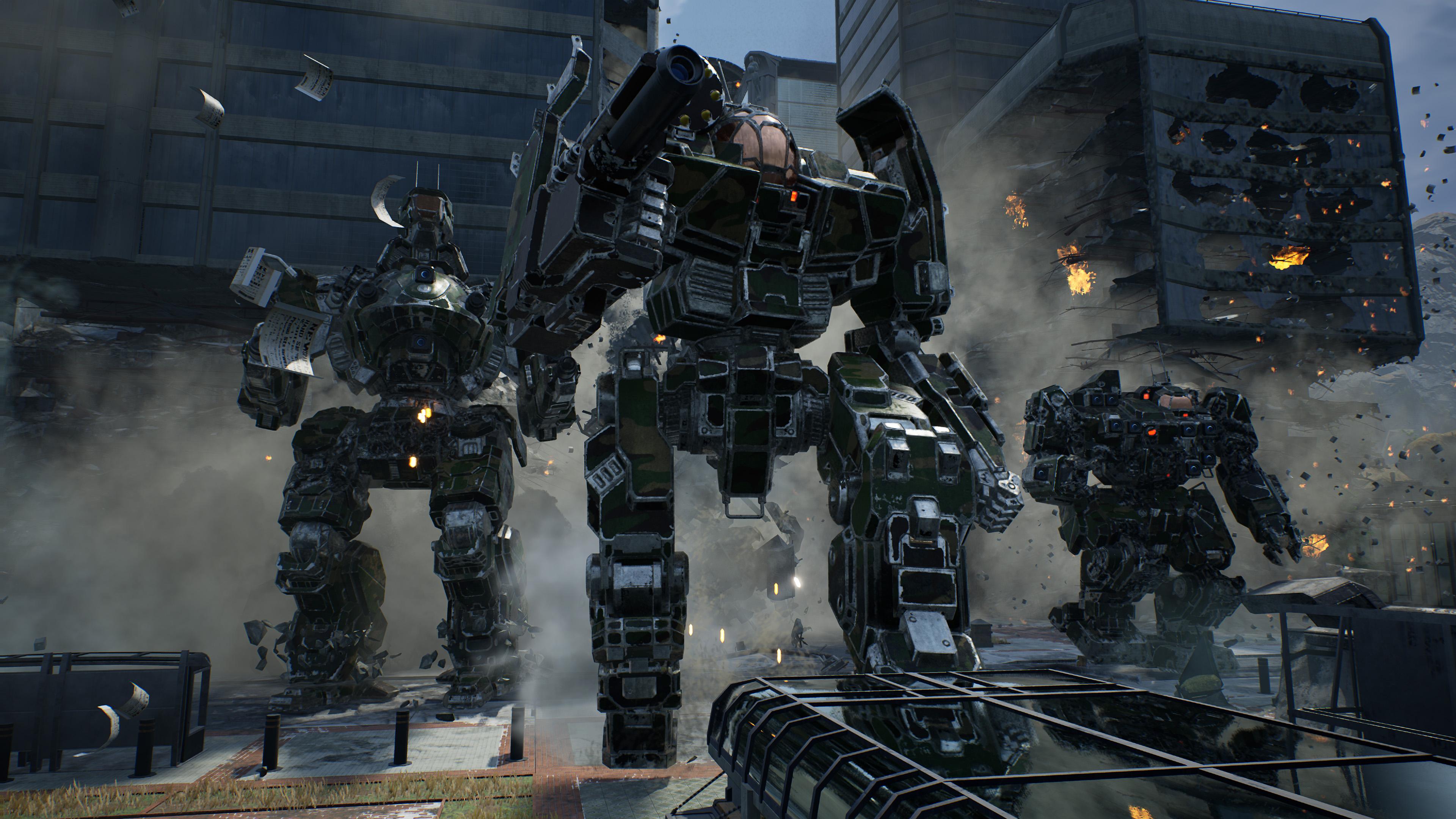 Скриншот №5 к MechWarrior 5 Mercenaries