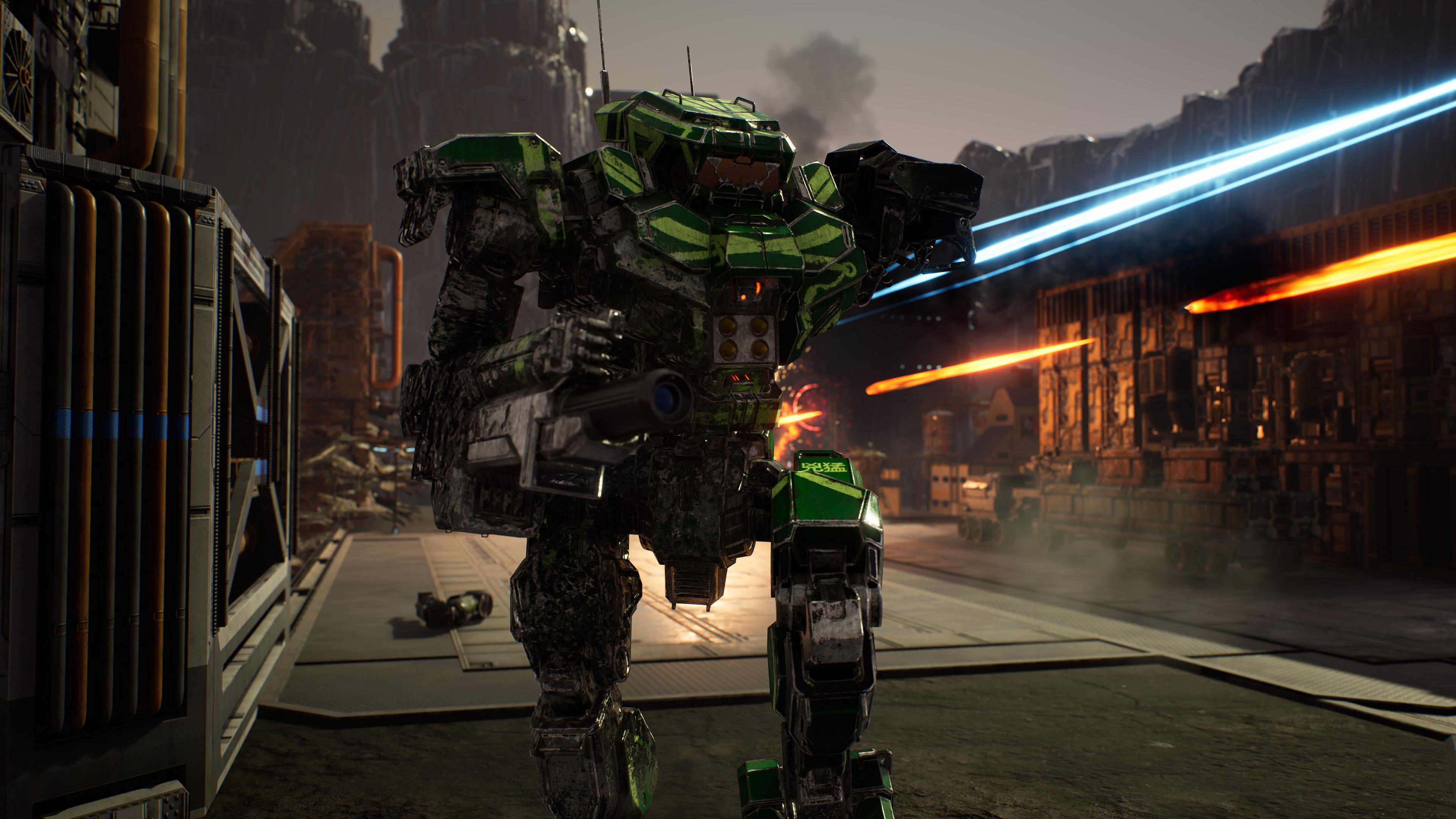 Скриншот №1 к MechWarrior 5 Mercenaries - JumpShip Edition