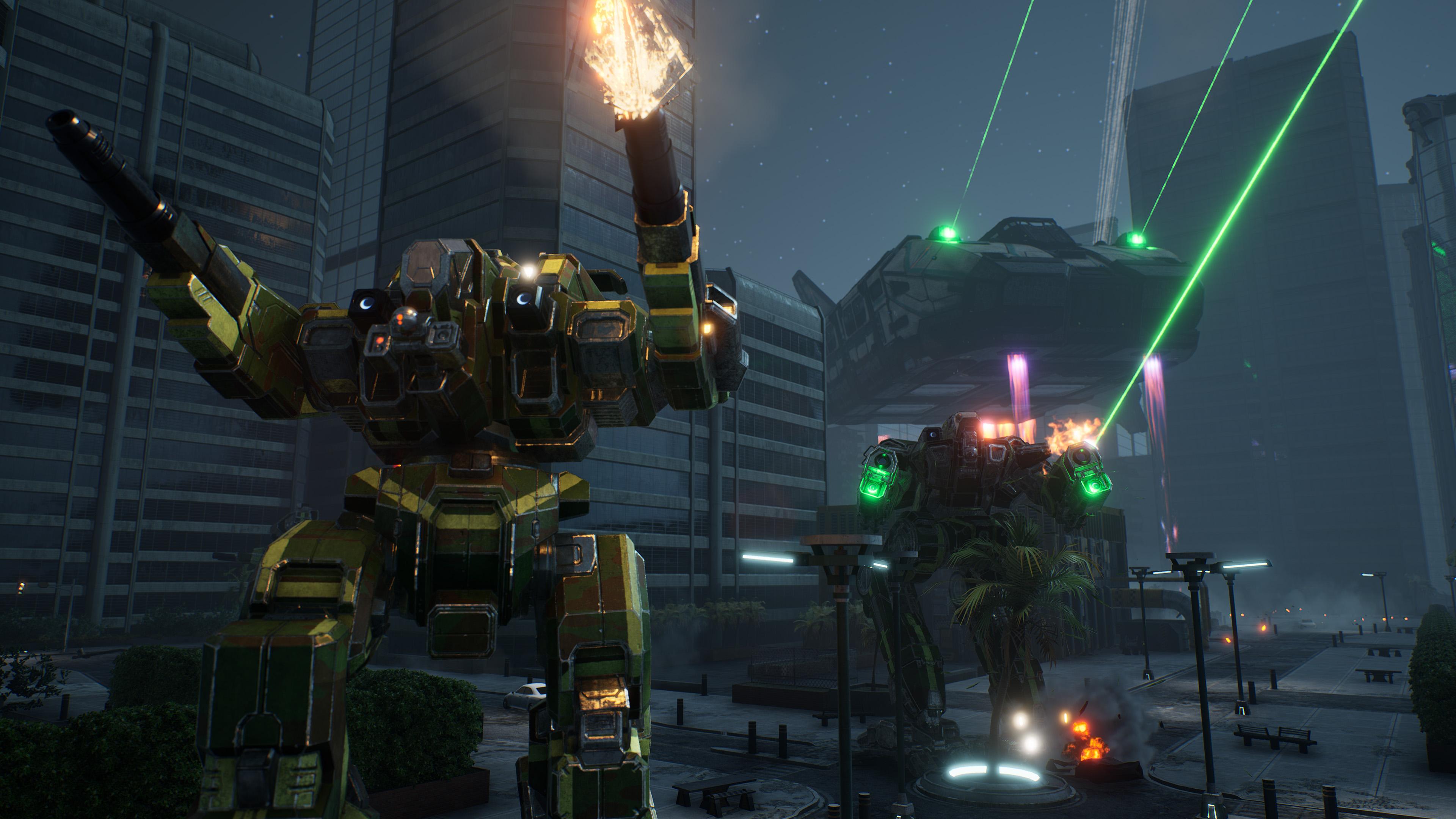 Скриншот №2 к MechWarrior 5 Mercenaries - JumpShip Edition