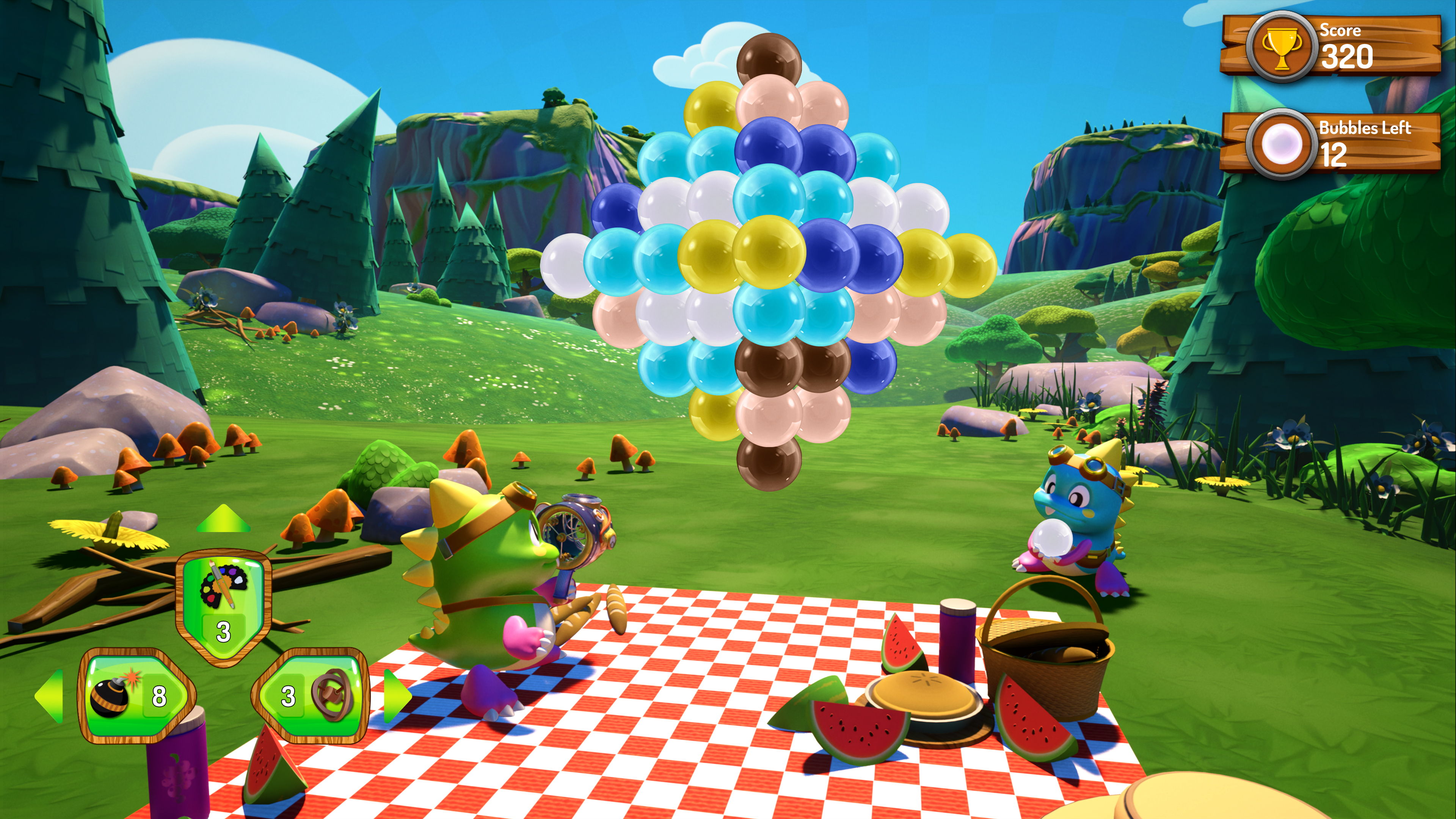 Скриншот №6 к Puzzle Bobble 3D Vacation Odyssey