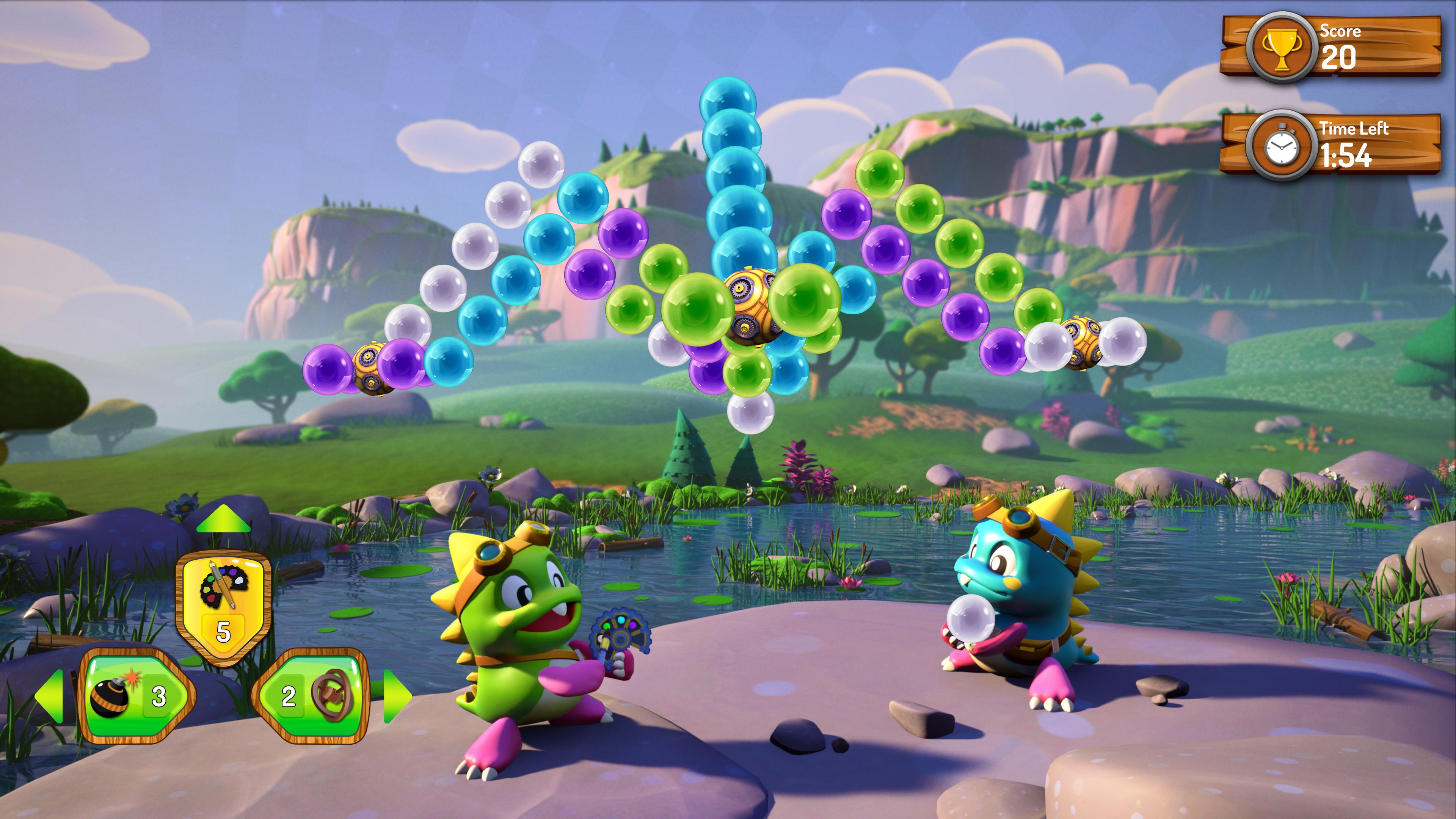 Скриншот №5 к Puzzle Bobble 3D Vacation Odyssey