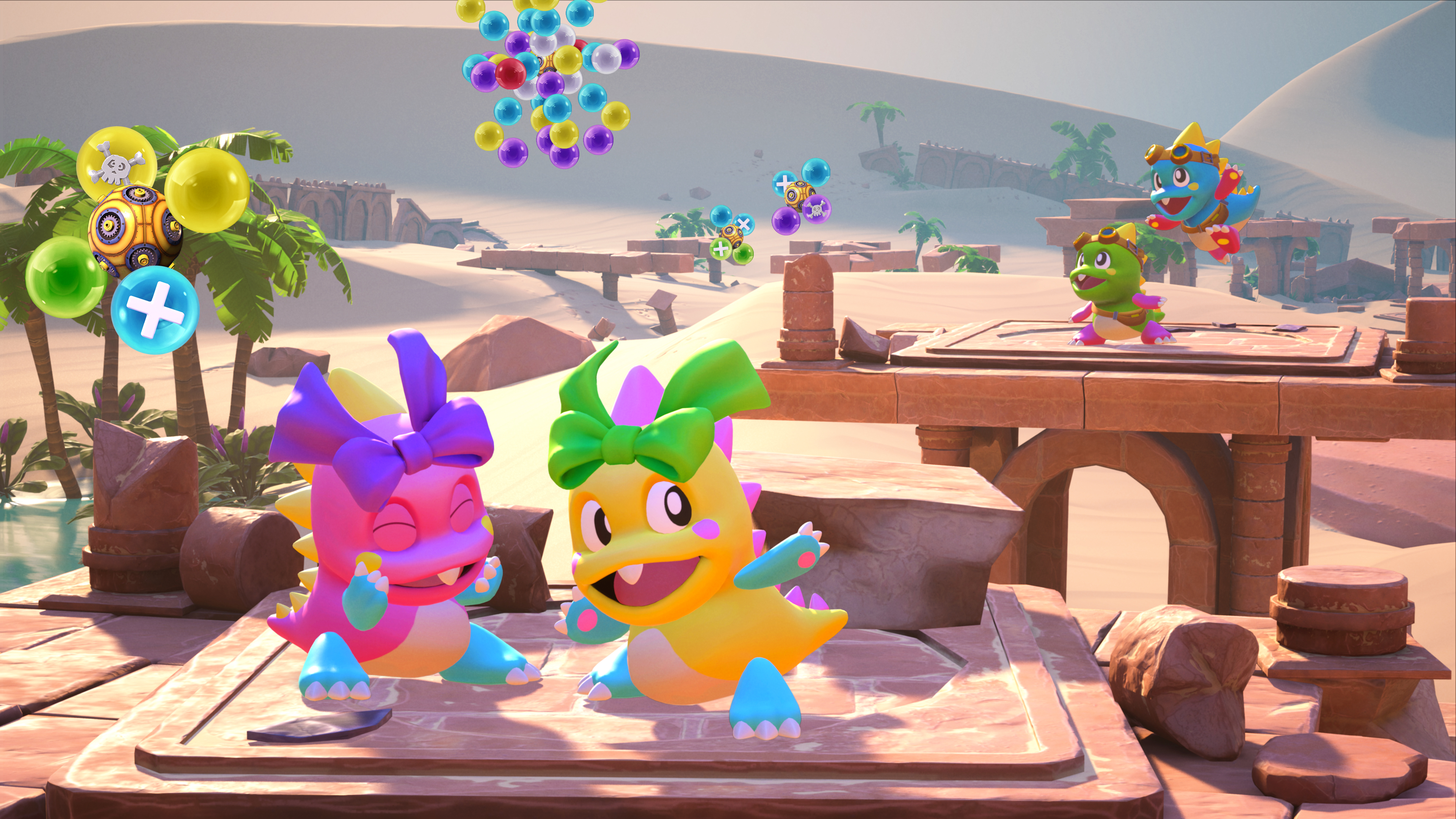Скриншот №4 к Puzzle Bobble 3D Vacation Odyssey
