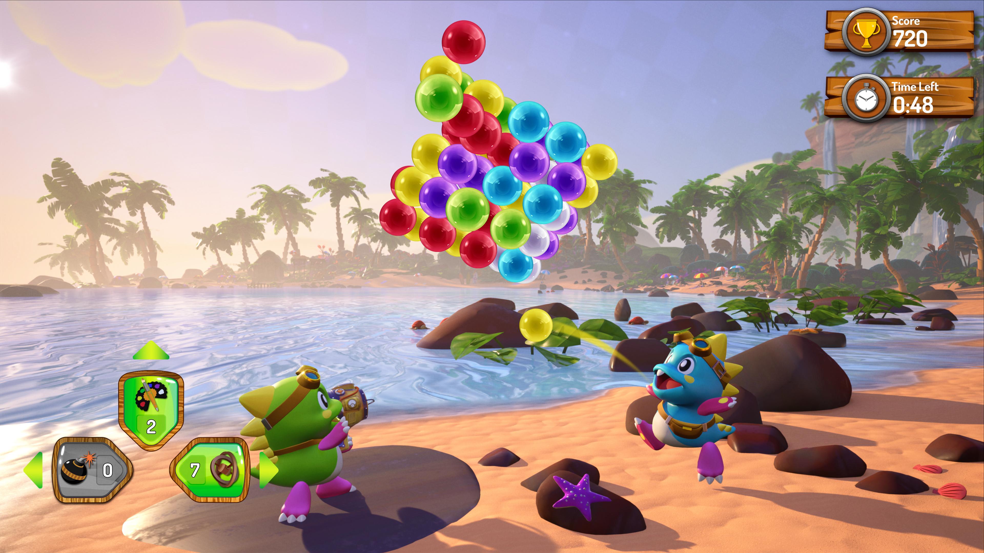 Скриншот №2 к Puzzle Bobble 3D Vacation Odyssey