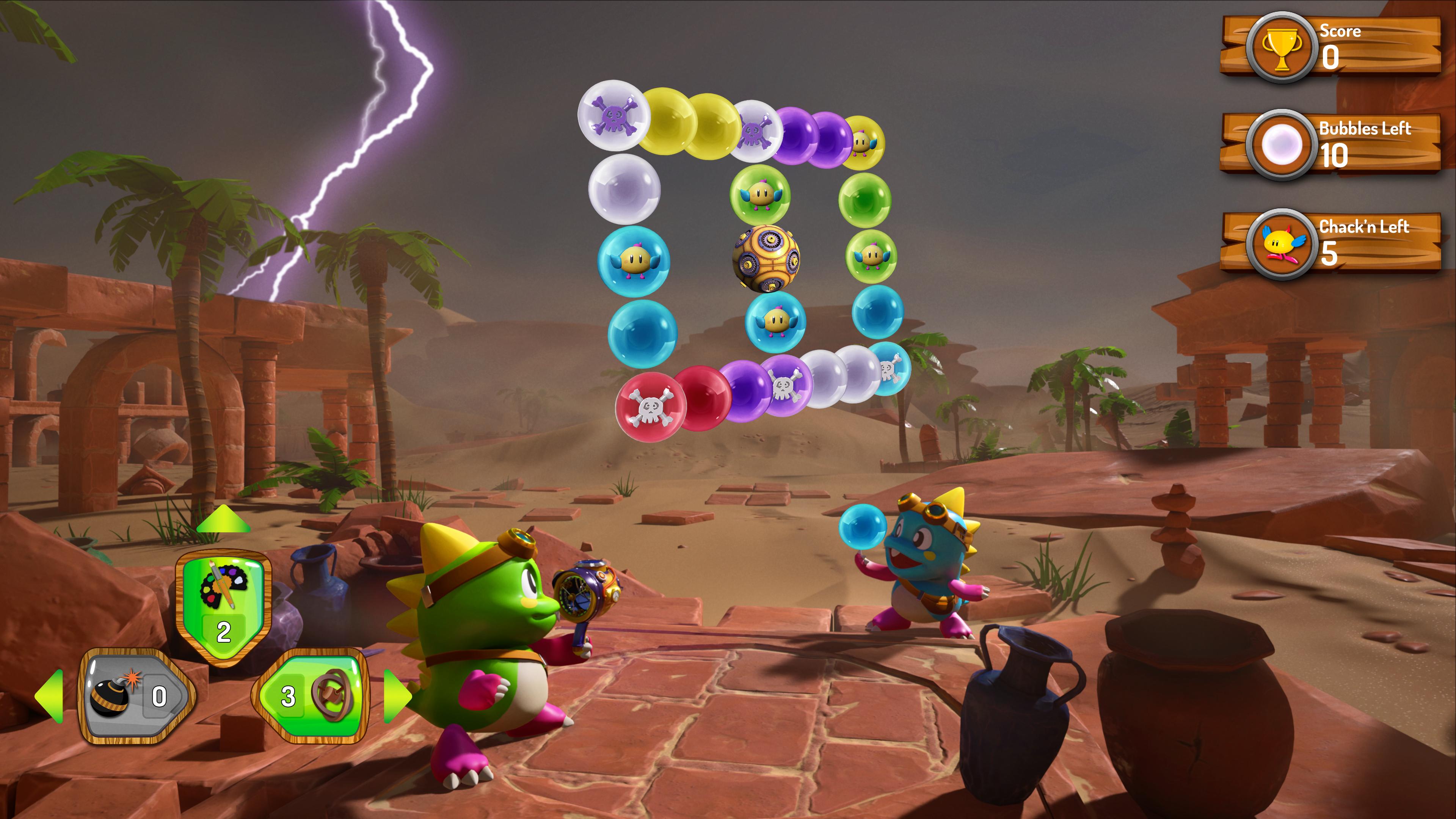 Скриншот №3 к Puzzle Bobble 3D Vacation Odyssey