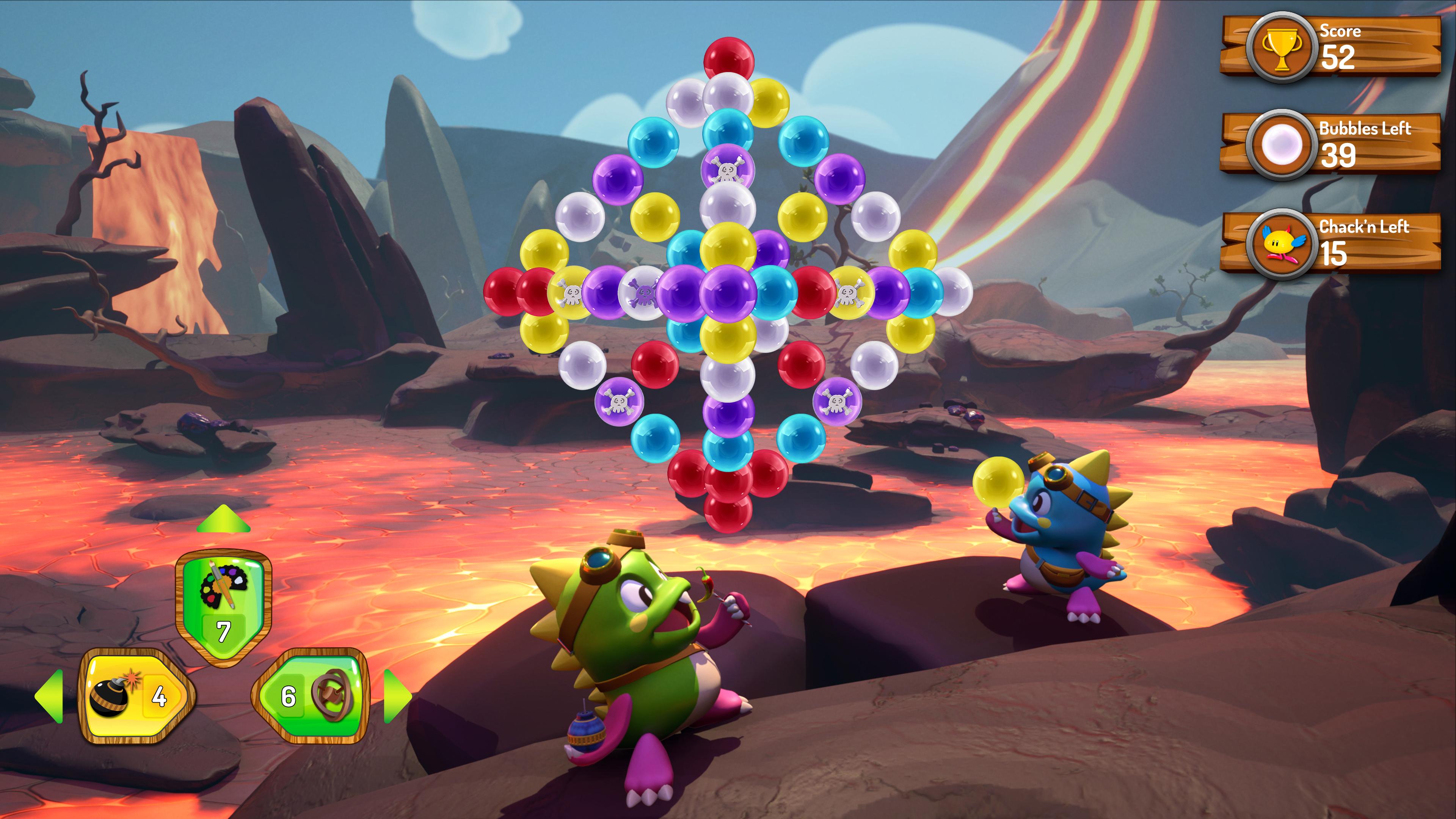 Скриншот №1 к Puzzle Bobble 3D Vacation Odyssey