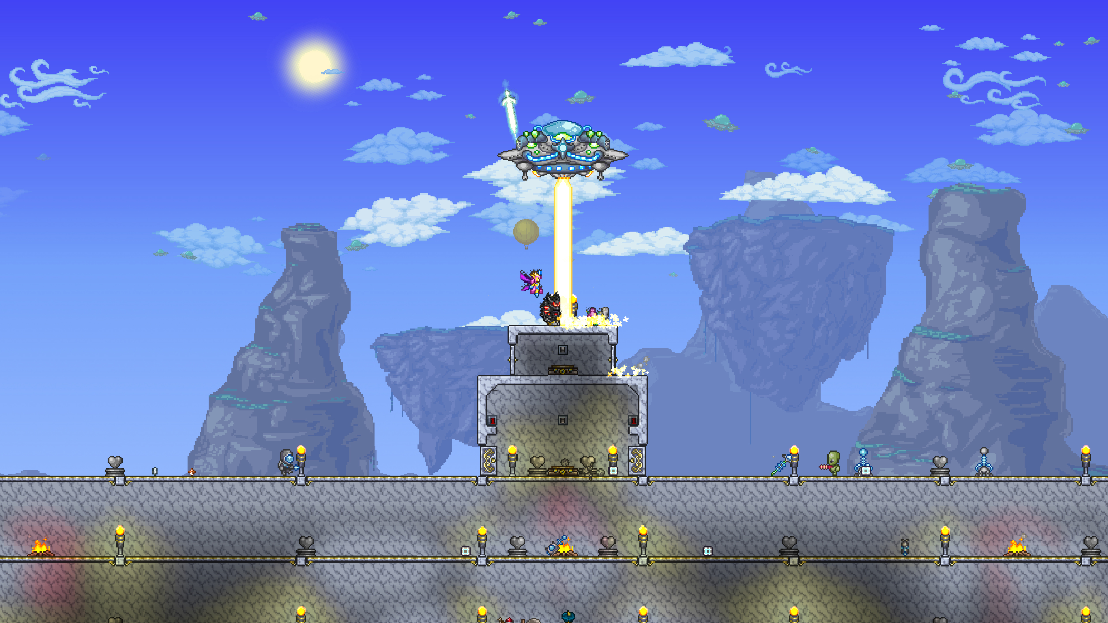 Скриншот №5 к Terraria – PlayStation4 Edition
