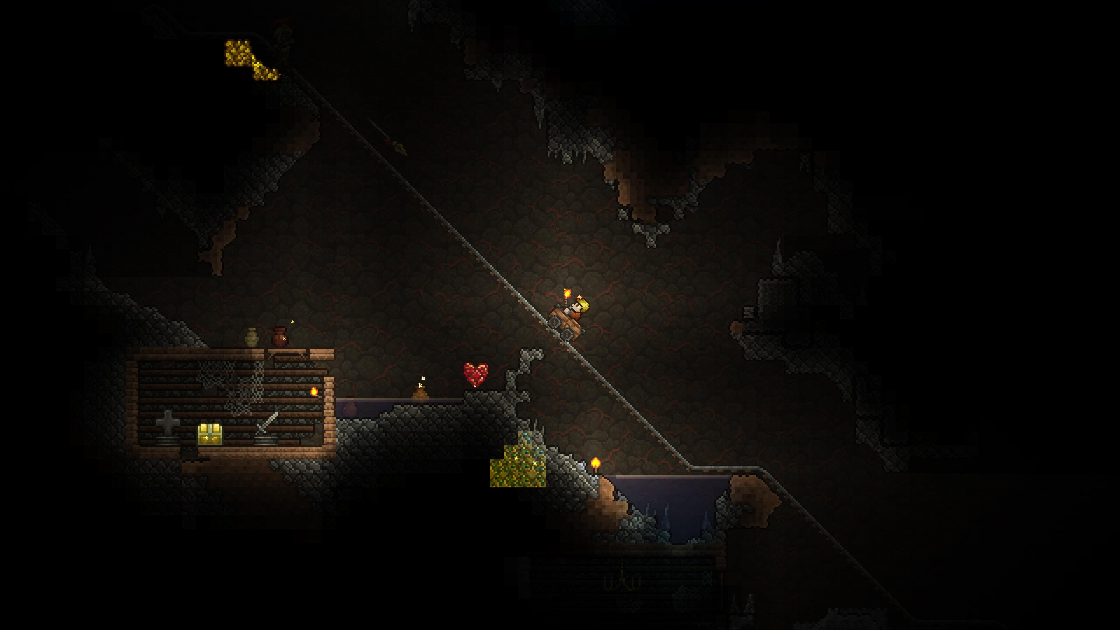 Скриншот №2 к Terraria – PlayStation4 Edition