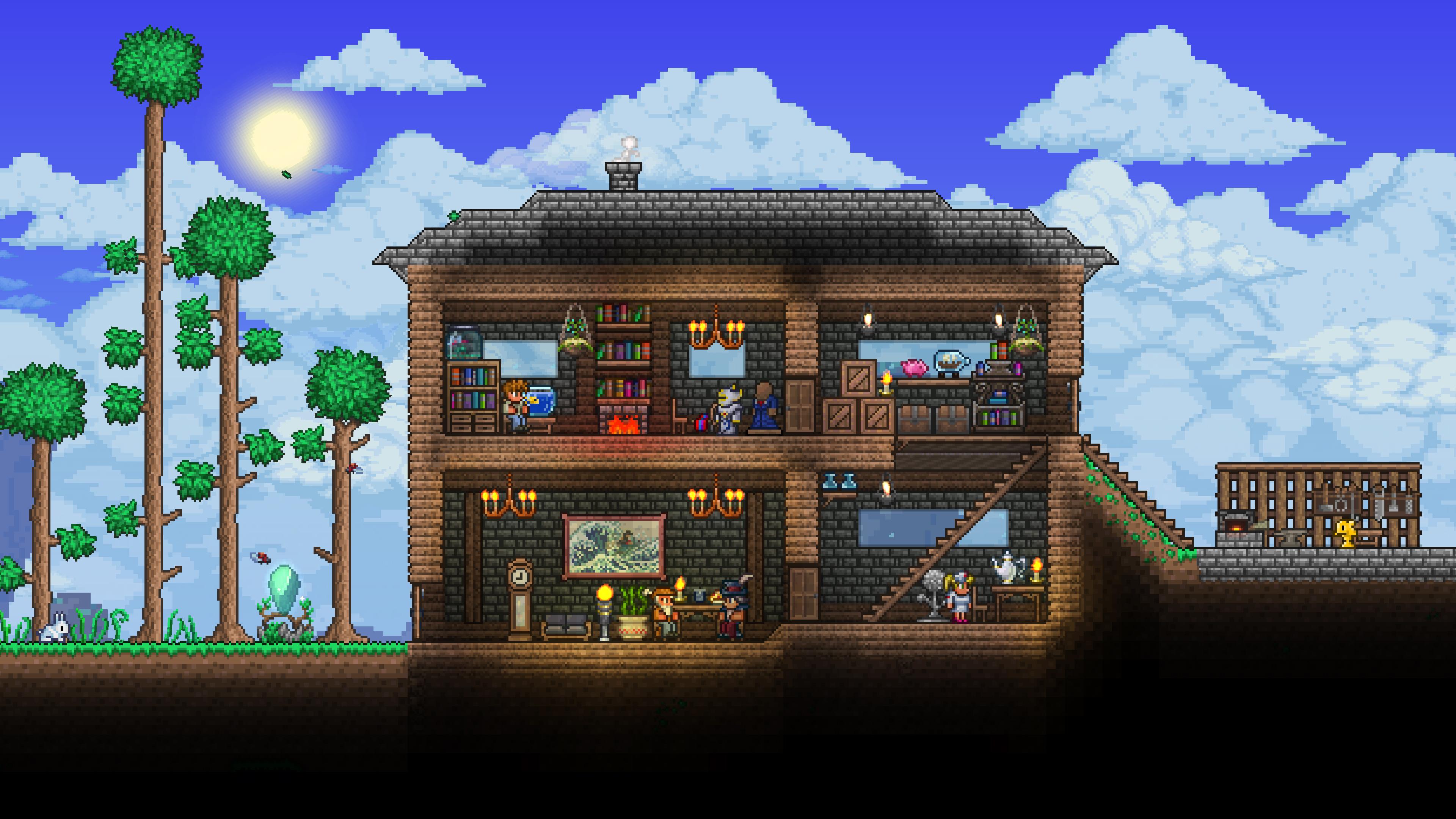 Скриншот №1 к Terraria – PlayStation4 Edition