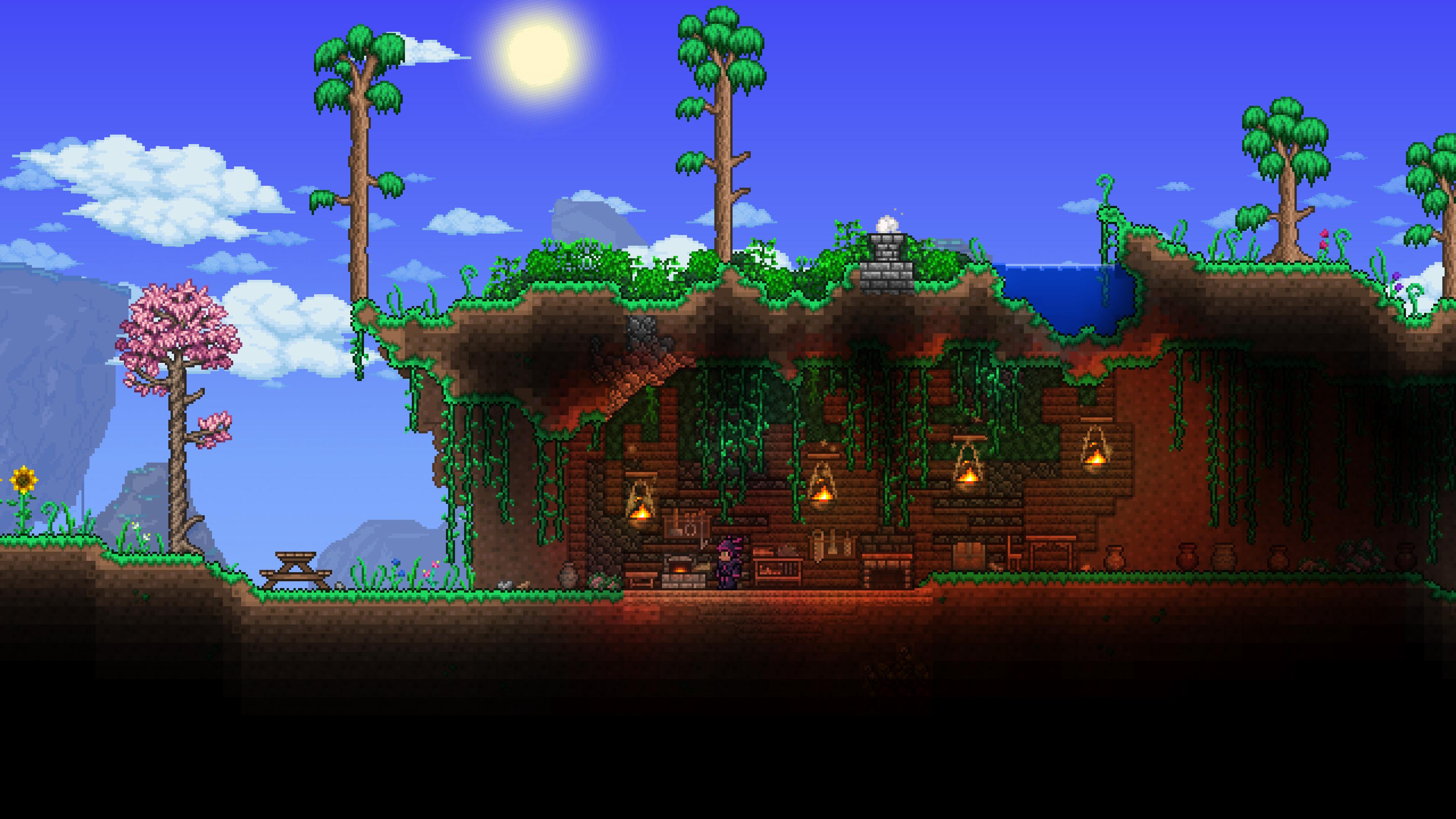 Скриншот №4 к Terraria – PlayStation4 Edition