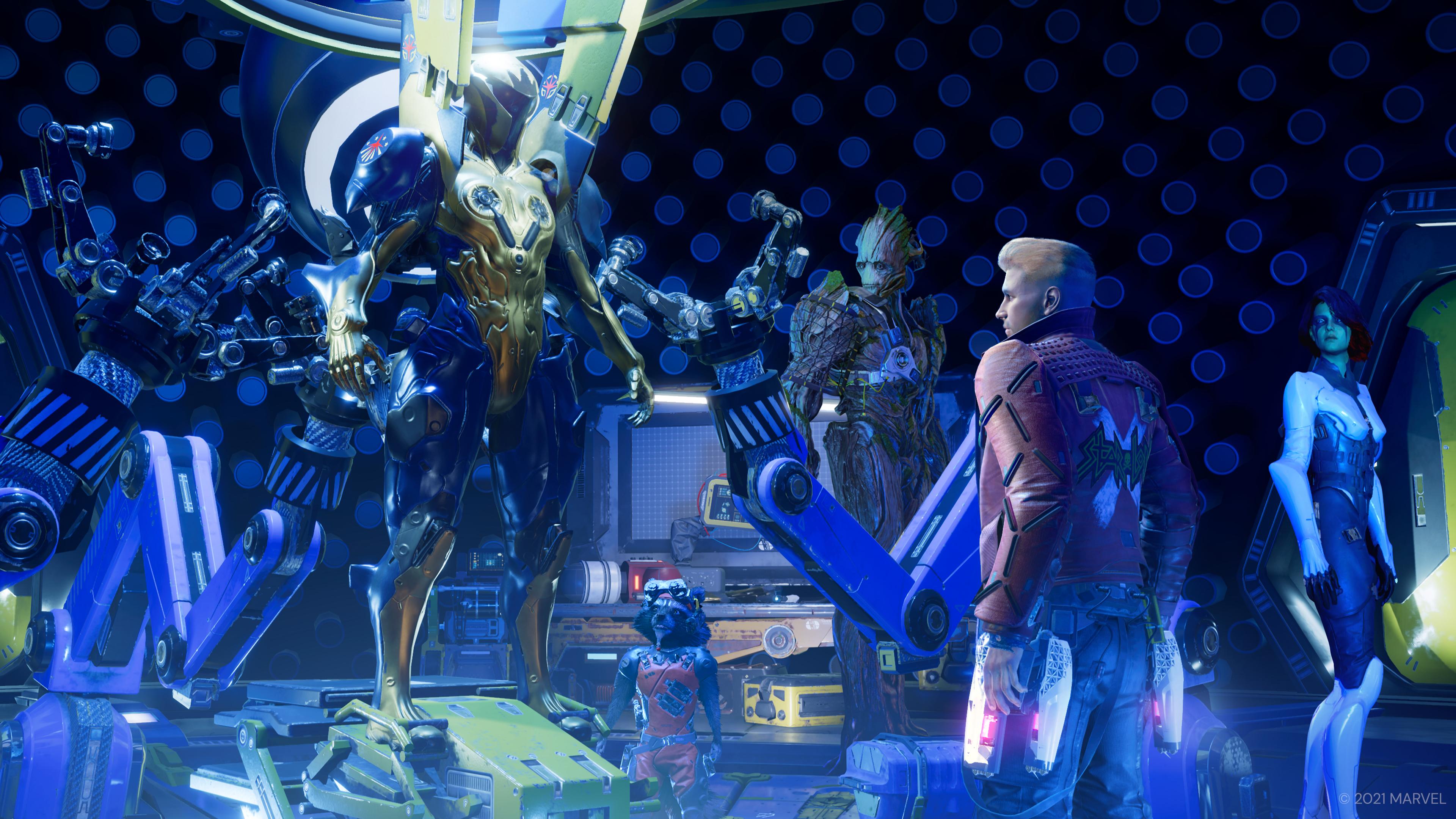 Скриншот №8 к «Стражи Галактики Marvel» PS4 и PS5