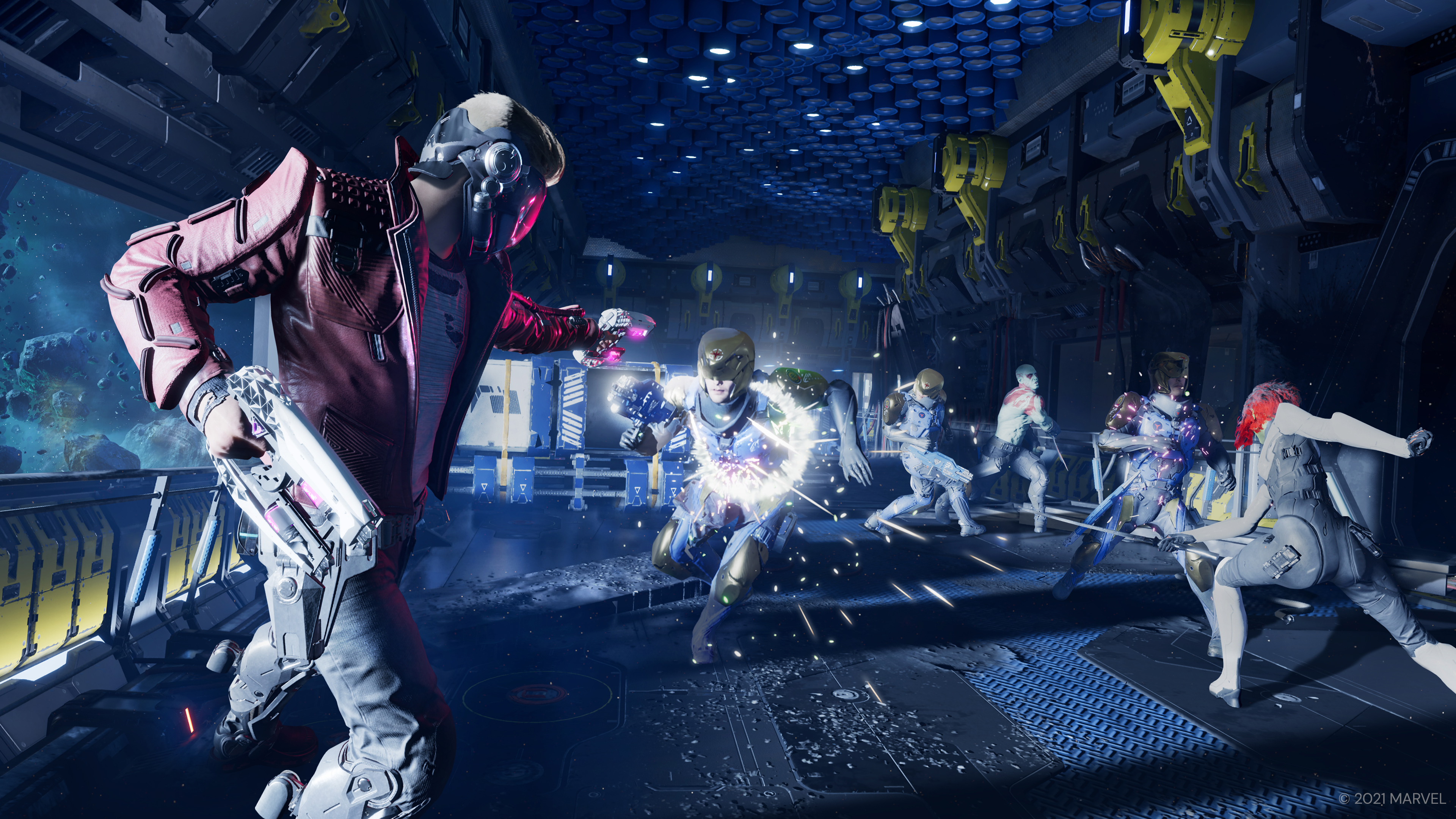 Скриншот №5 к «Стражи Галактики Marvel» PS4 и PS5