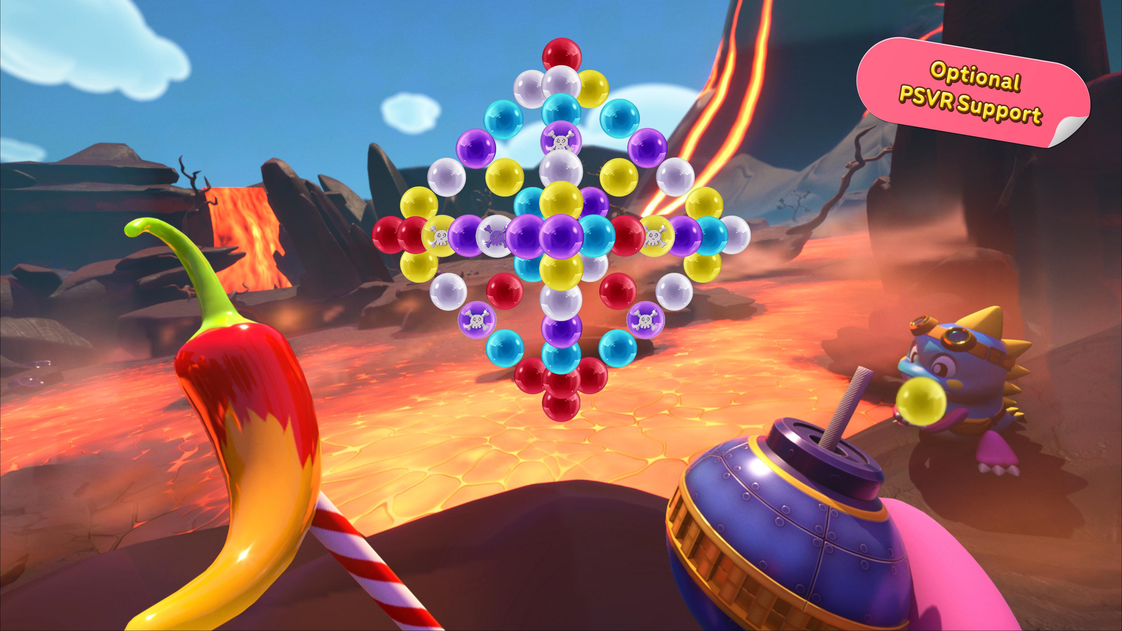 Скриншот №8 к Puzzle Bobble 3D Vacation Odyssey