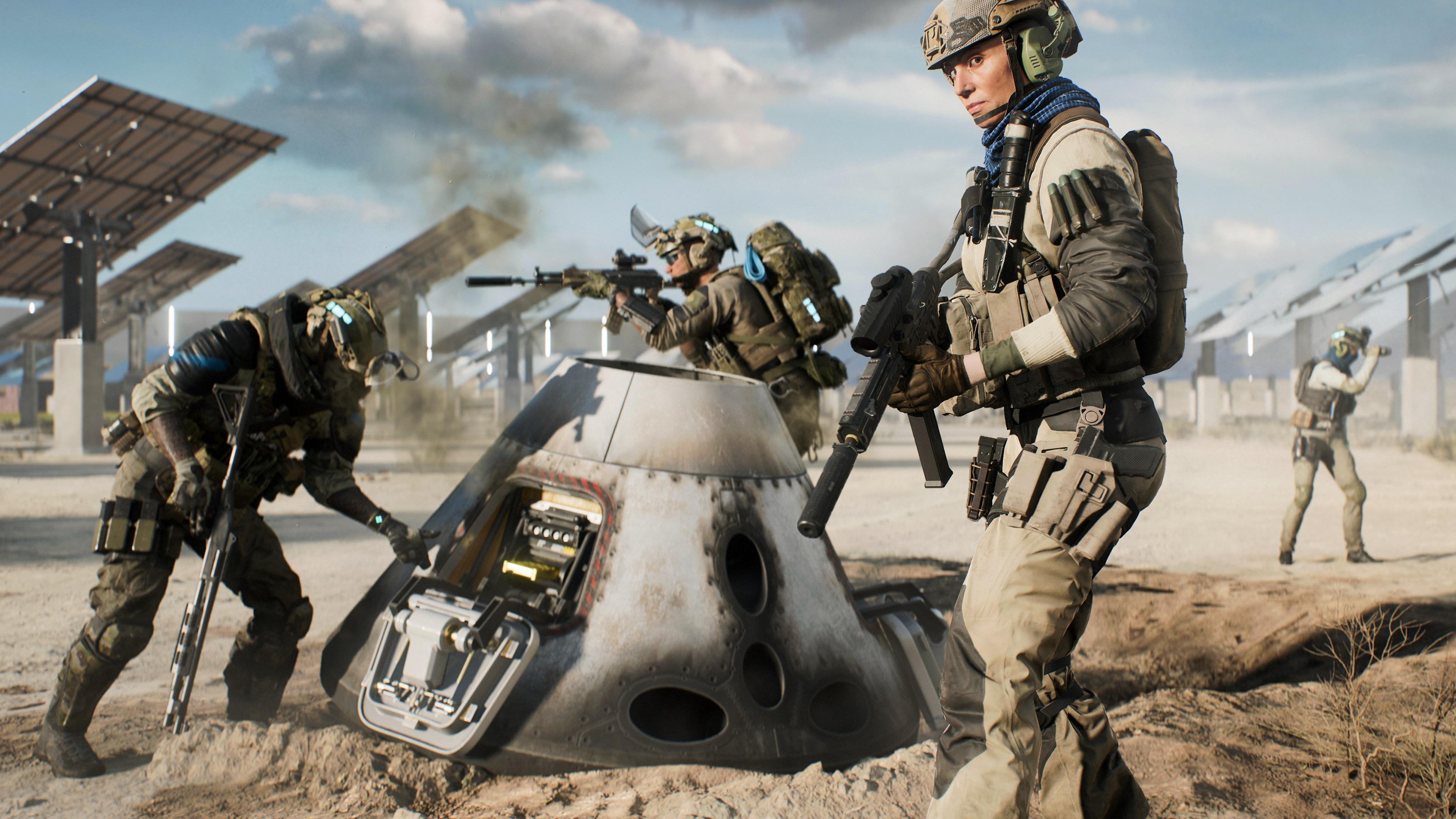 Скриншот №10 к Battlefield 2042 для PS4