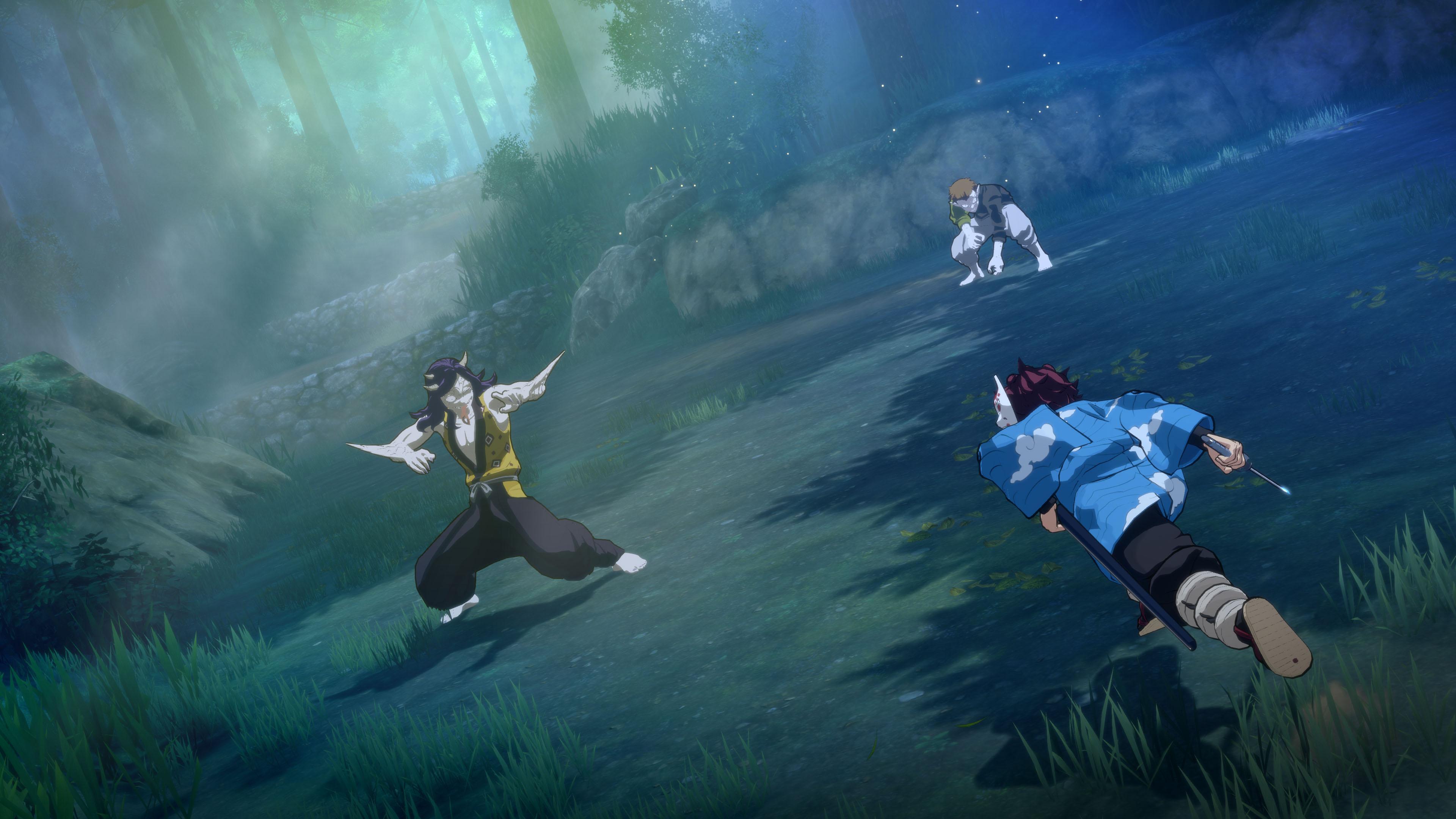 Скриншот №2 к Demon Slayer -Kimetsu no Yaiba- The Hinokami Chronicles Deluxe Edition PS4 and PS5