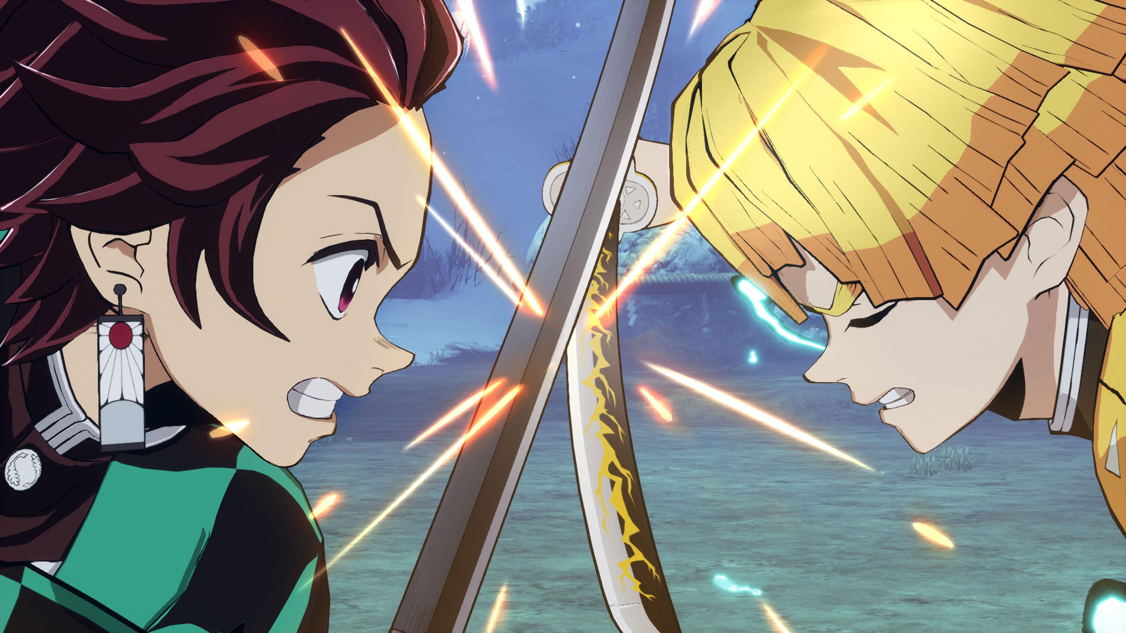 Скриншот №1 к Demon Slayer -Kimetsu no Yaiba- The Hinokami Chronicles Deluxe Edition PS4 and PS5
