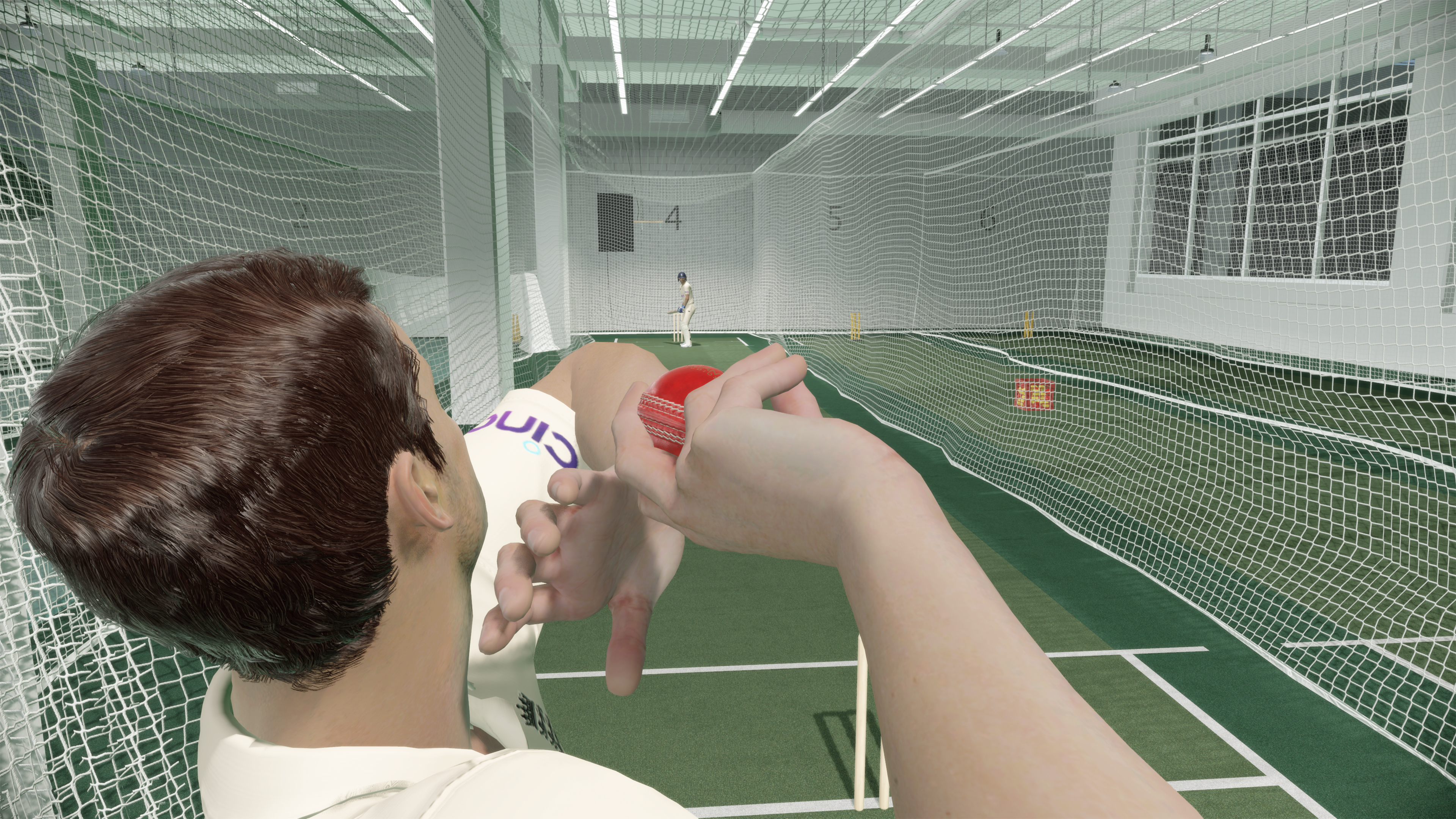 Скриншот №2 к Официальная игра Эшес Cricket 22